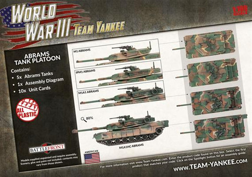 Abrams Tank Platoon - TUBX18