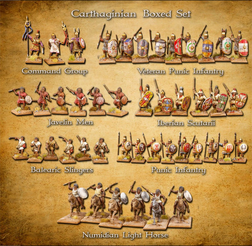 Clash of Spears Carthaginian Boxed Set