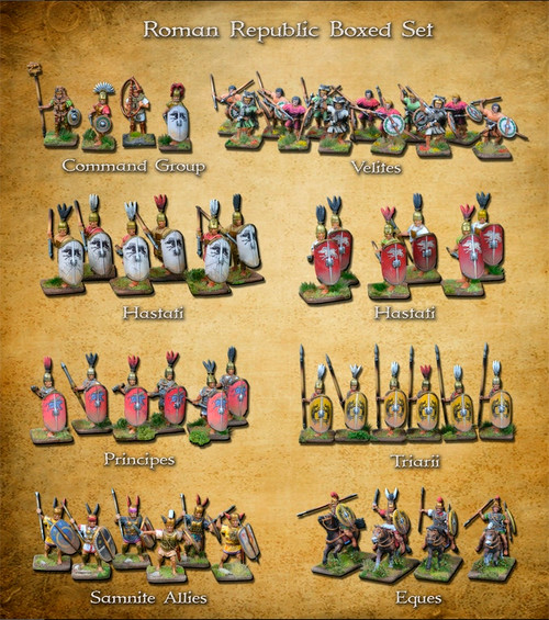 Clash of Spears Roman Republic Boxed Set
