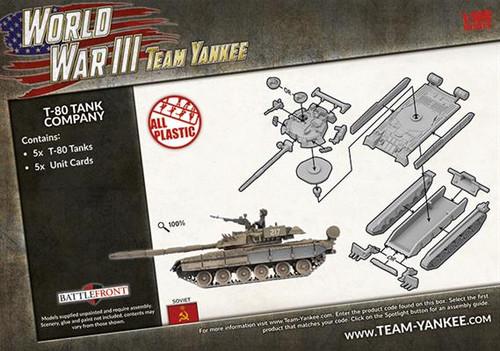 Soviet T-80 Tank Company TSBX21