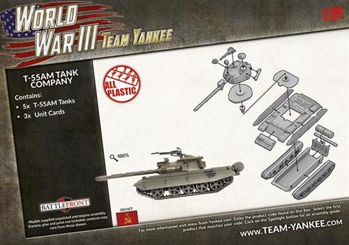 Soviet T-55AM Tank Company TSBX22