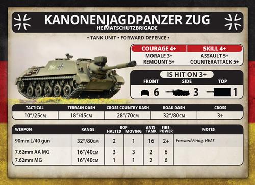 World War III - Kanonenjagdpanzer Zug - TGBX16