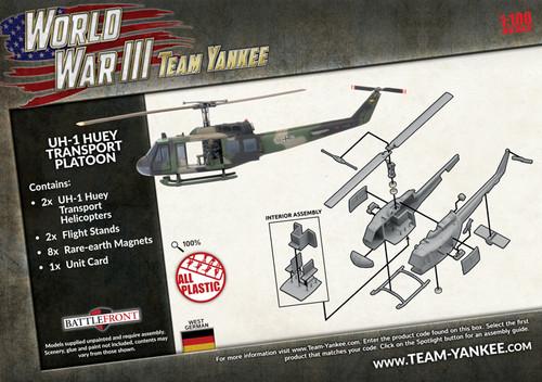 World War III - UH-1 Huey Transport Platoon - TGBX17