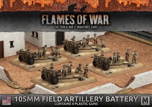 Fighting First 105mm Field Artillery Battery