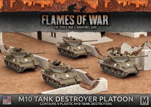Fighting First M10 3-Inch Tank Destroyer Platoon