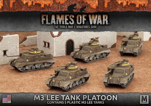 Fighting First M3 Lee Tank Platoon