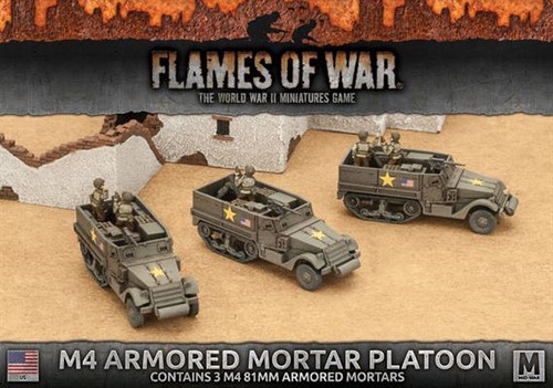 Fighting First M4 81mm Armored Mortar Platoon