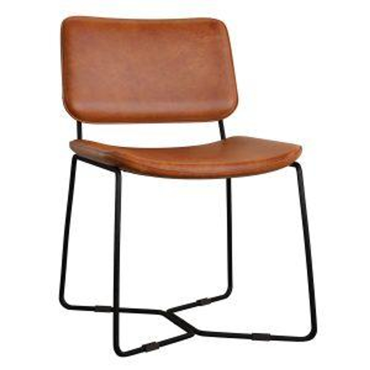 PEARL Side Chair – ZA.973C – Bruciato Leather