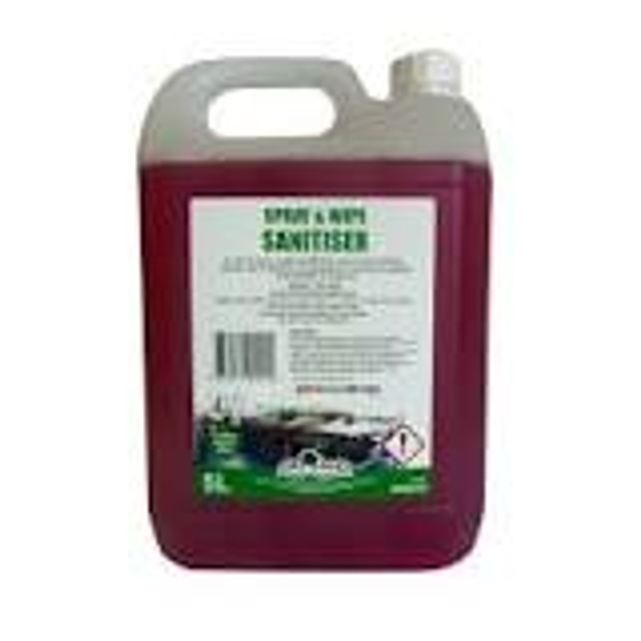 Greylands Spray and Wipe Sanitiser 5 Litre