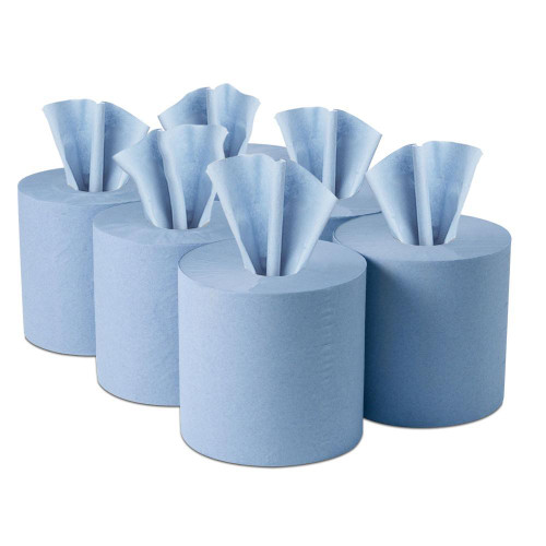 2Ply Blue Centre feed 150mtr PK6