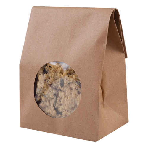 Kraft Paper Bag with window pk250