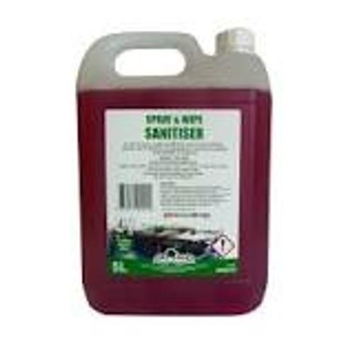 Greylands Spray and Wipe Sanitiser 5 Litre