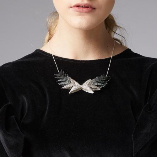Thousand Elements Necklace - Black - muntu - themuntu.com
