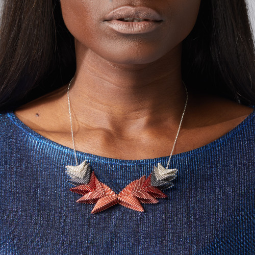 Thousand Elements Necklace - Red - muntu - themuntu.com
