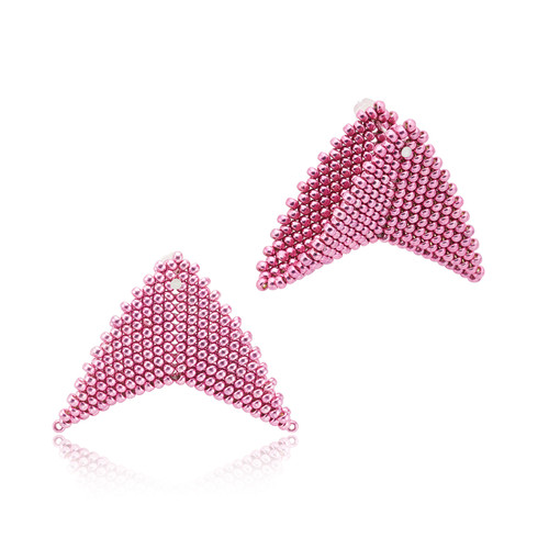 Earrings - Nikita - Pink - muntu - themuntu.com