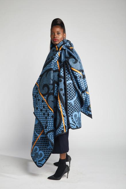 Heritage Blanket Scarf - Ocean Spade - muntu - themuntu.com