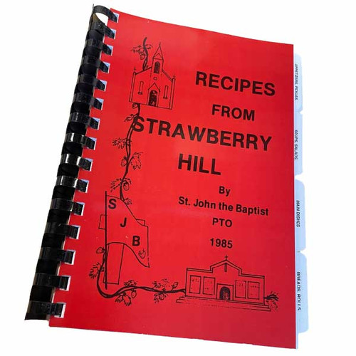 Recipes From Strawberry Hill Cookbook (1985)