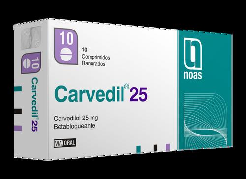Carvedil 25