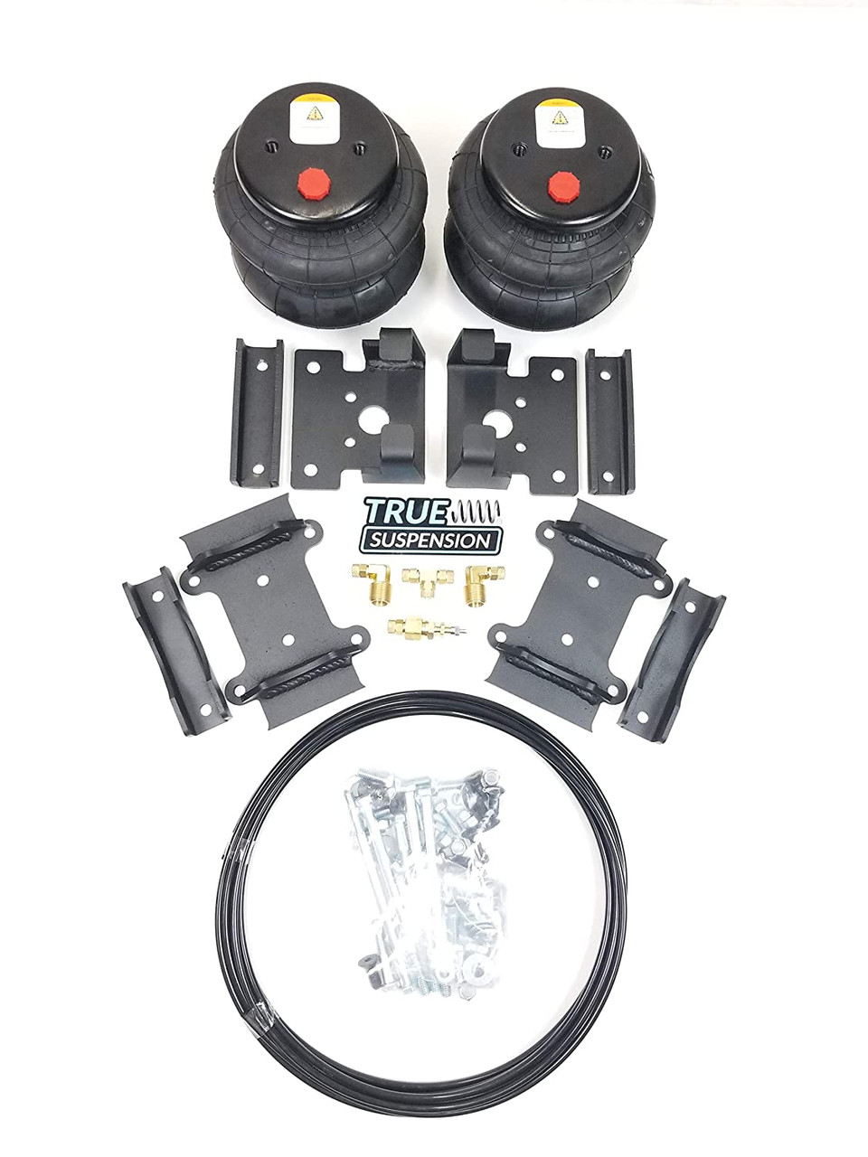 Compatible with Dodge 3500 4wd Pickup Truck 14-21 Towing Helper Assist Air Ride Suspension Kit