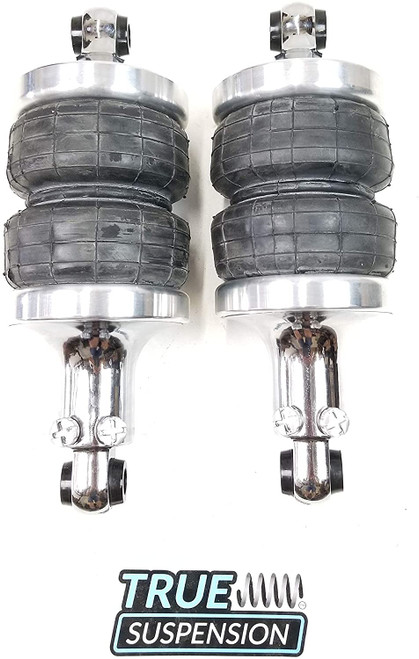 Universal Active Air Spring Over Shocks 2400 Series to Replace Coilovers Pair