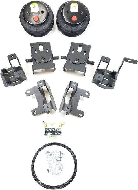 Compatible with Ford F150 Pickup Truck 04-14 Towing Assist Helper Air Ride Suspension Kit 4WD 2WD