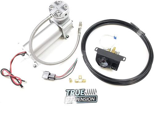 Compatible with Ford F150 Pickup Truck 04-14 Towing Assist Helper Air Ride Suspension In-Cab Controls Kit 4WD 2WD