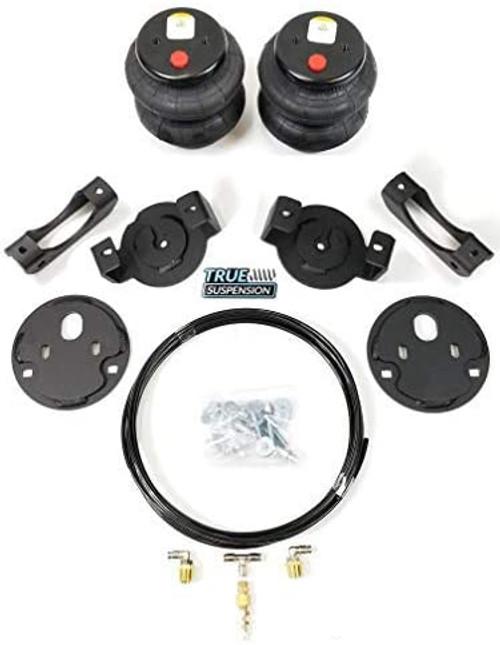 Compatible with Chevrolet Silverado GMC Sierra Silverado 1500 99-06 Pickup Rear Towing Assist Helper Air Ride Suspension Kit 2WD RWD