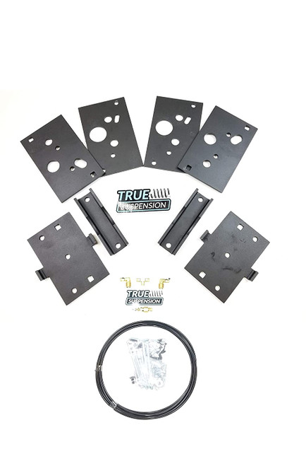Compatible with Dodge 1500 Ram 2wd 4wd Pickup Truck 09-18 Towing Assist Helper Air Ride Suspension Kit