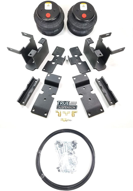 Compatible with Ford F150 Pickup Truck 15-19 Towing Assist Helper Air Ride Suspension Kit 4WD 2WD