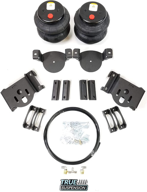 Compatible with Nissan Frontier 05-20 Truck Pickup Rear Towing Assist Helper Air Ride Suspension Kit 2wd RWD