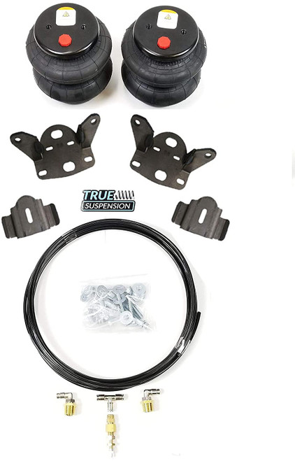 Compatible with Toyota Tundra 07-21 Truck Pickup Rear Towing Assist Helper Air Ride Suspension Kit 4wd 4x4