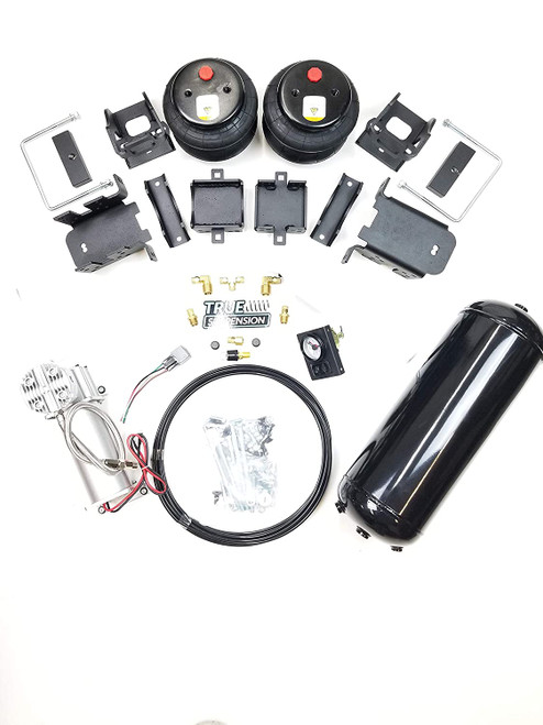 Compatible with Ford F250 2WD Pickup Truck Towing Assist Air Ride Suspension Kit Complete With Air Management Control