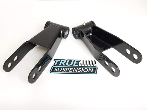 """Compatible with Ford F250 08-16 Pickup Truck Rear 2"""" Lowering Leveling Shackles for 2WD"""