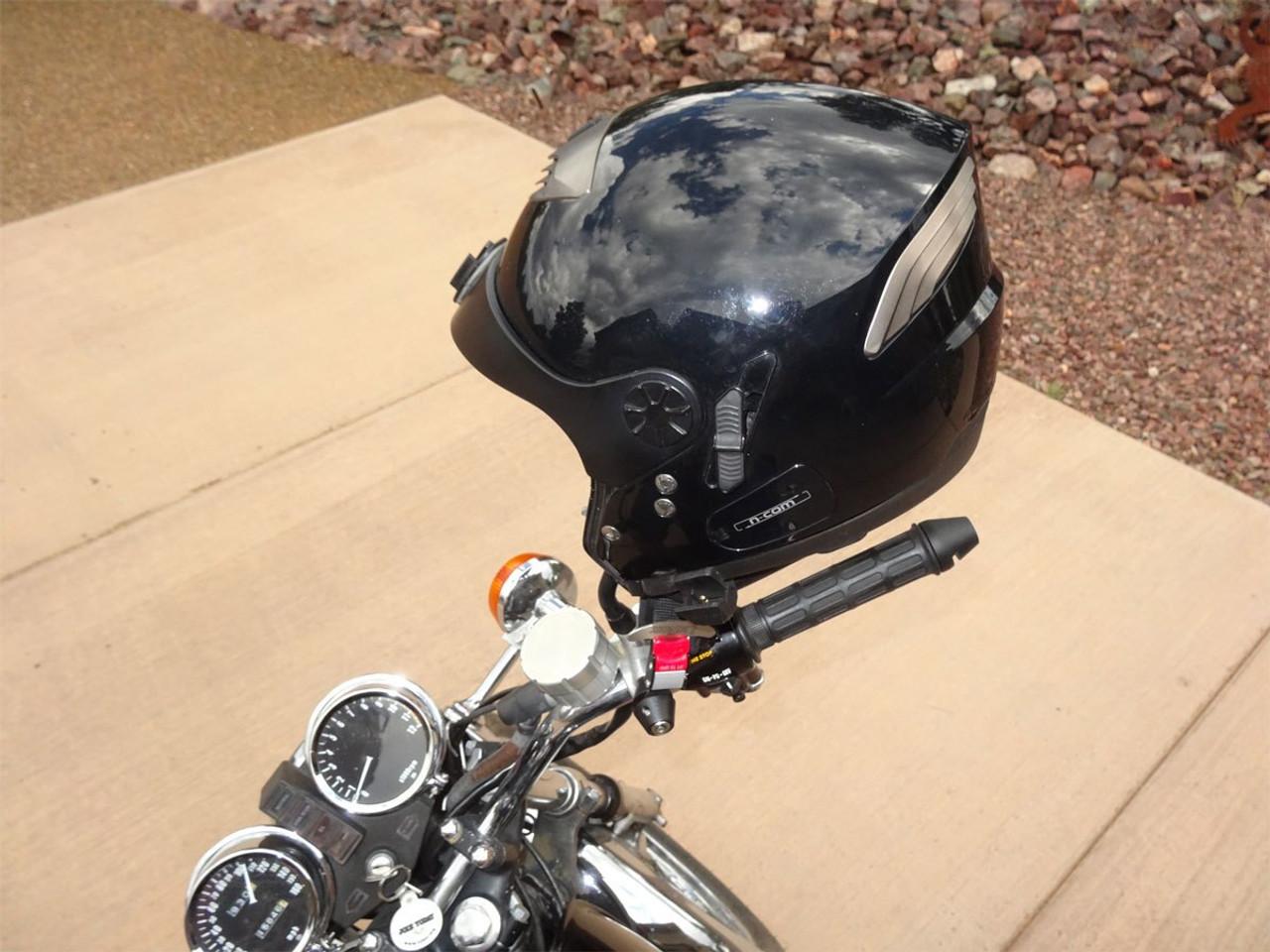2004-B, Lidlox Helmet Lock Pair for Metric Motorcycles, Black.