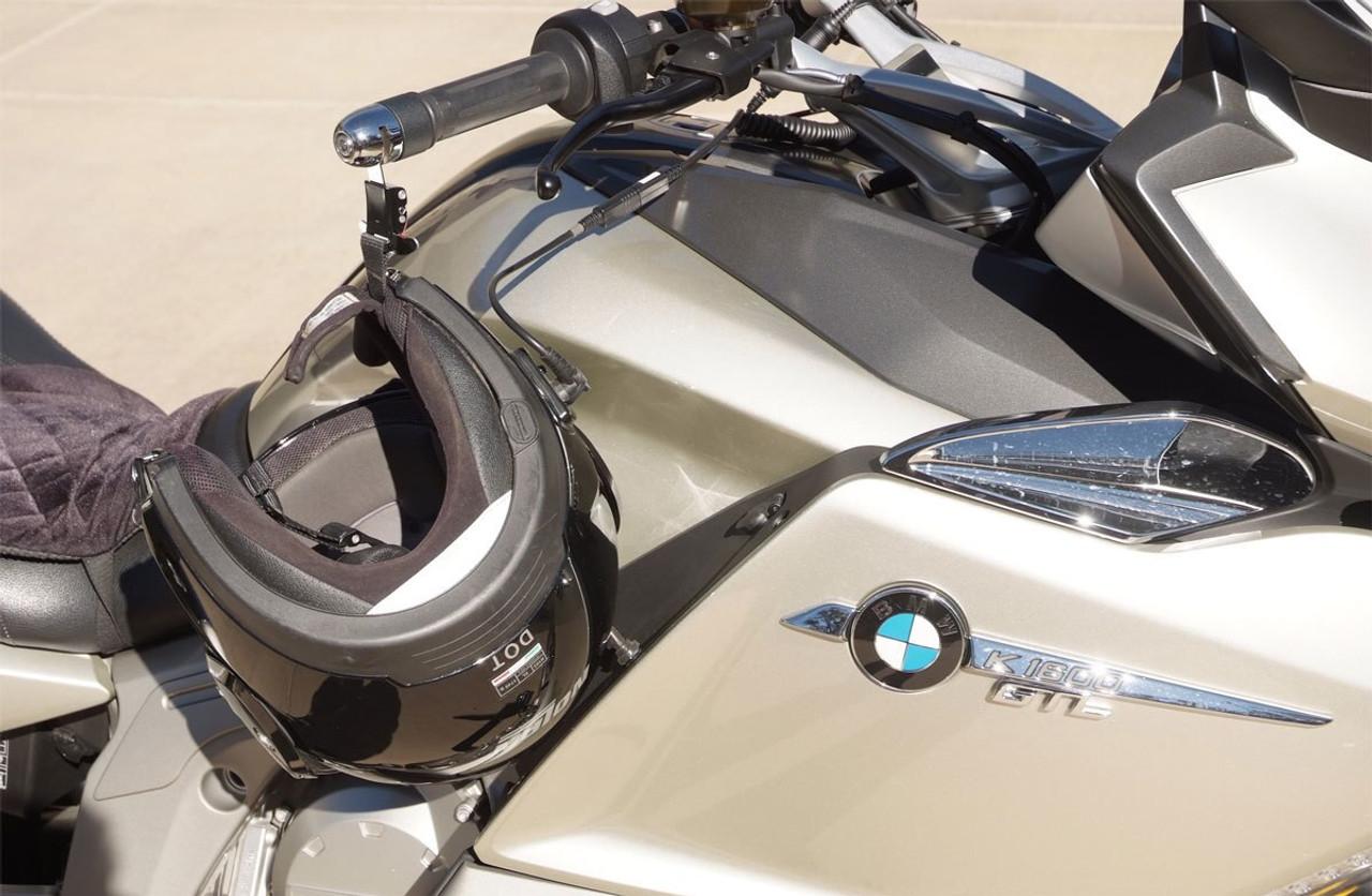 1007-BB Lidlox Pair for BMW, Black Spacer, Black Lock.