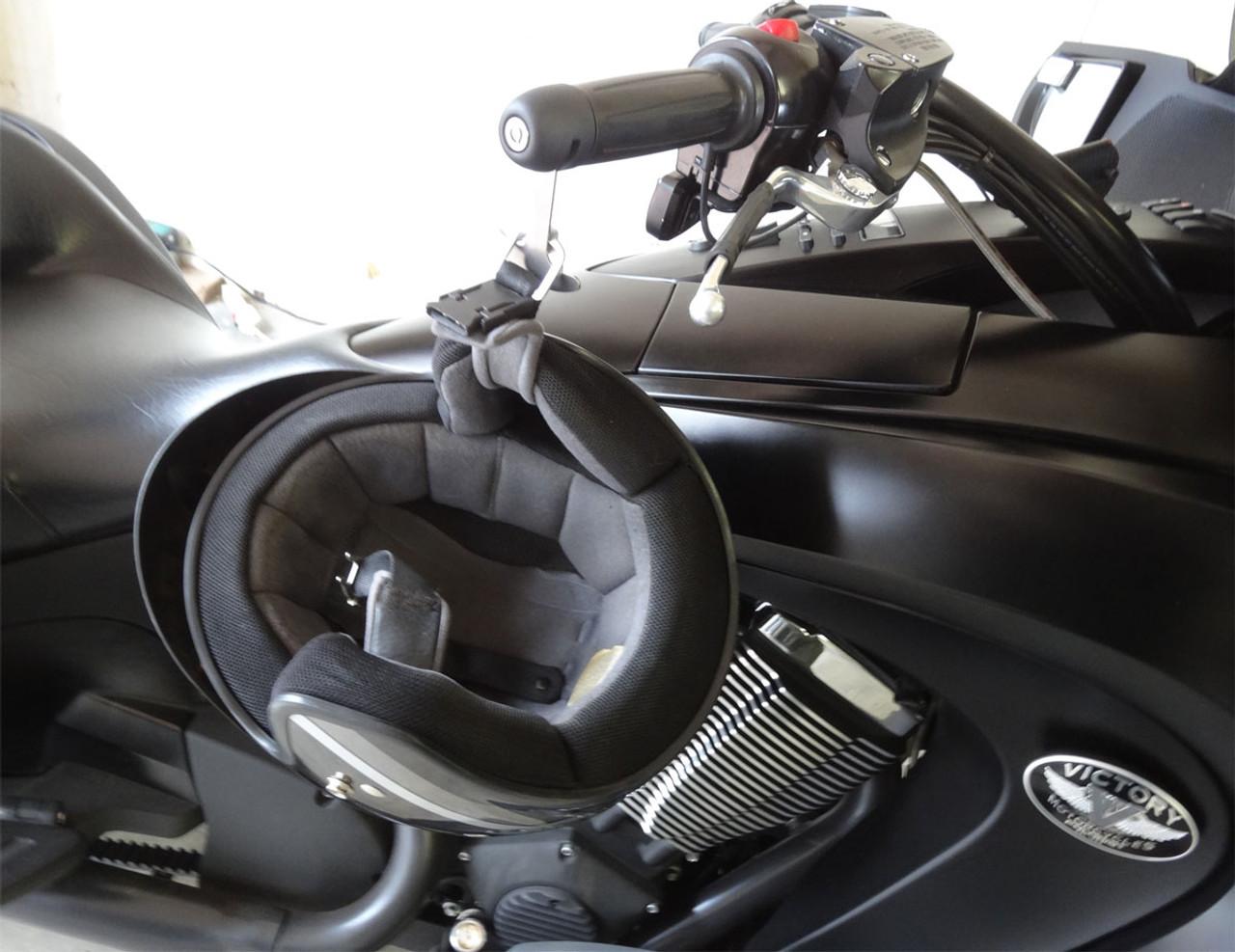 1010-B Lidlox Helmet Lock Pair for Victory Vision, Black
