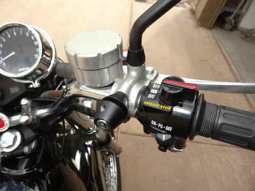 2003-B, Lidlox Motorcycle Helmet Lock Single for Metric Motorcycles, Black.
