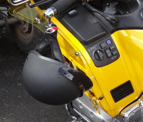 1022-B, Lidlox Pair for Honda Gold Wing and More, Black.