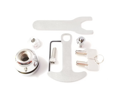 1021-C, Lidlox Single for Honda Gold Wing and More, Chrome.