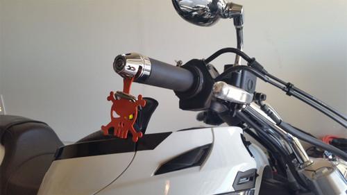 1017-CC Lidlox Helmet Lock Single for Yamaha Star, Chrome