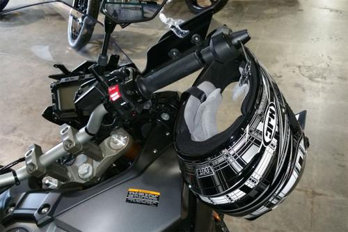1047-B Lidlox Helmet Lock Single for Yamaha FJ09, Black.