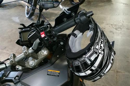 1048-B Lidlox Helmet Lock Pair for Yamaha FJ09, Black.