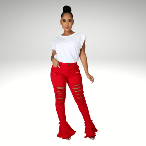 Alessia Groovin' Flare Jeans