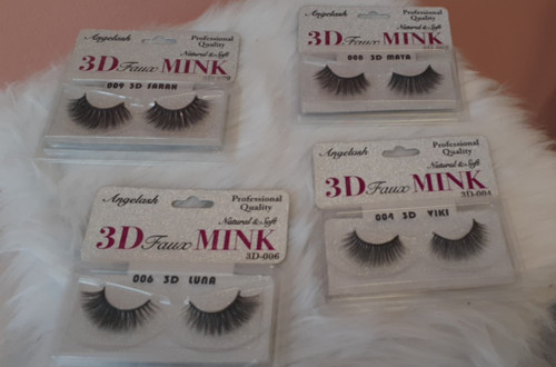 Angelash 3D Faux MINK Eyelashes