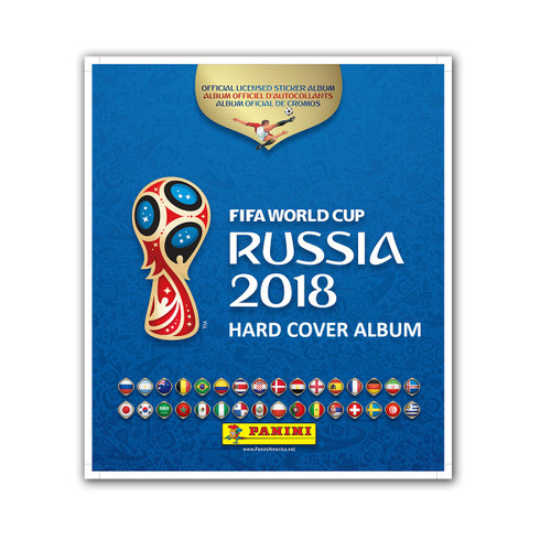 HARD COVER PANINI 2018 FIFA WORLD CUP RUSSIA ALBUM
