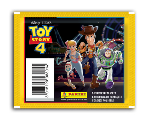 Panini Toy Story 4 Stickers: 50 Packs  (5 Stickers per Pack) FREE SHIPPING