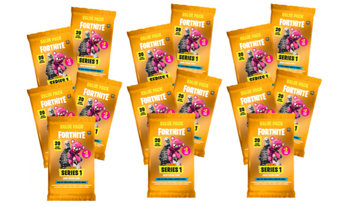 2019 PANINI FORTNITE SERIES 1 TRADING CARDS-VALUE PACK 748 CARDS (34 PACKS x 22)