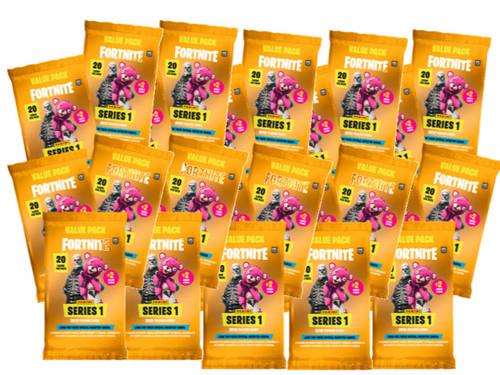 2019 PANINI FORTNITE SERIES 1 TRADING CARDS MEGA BUNDLE 1,518 CARDS (69 PACKSx22)