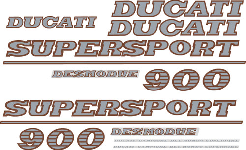 Ducati 900SS Decal Sticker set