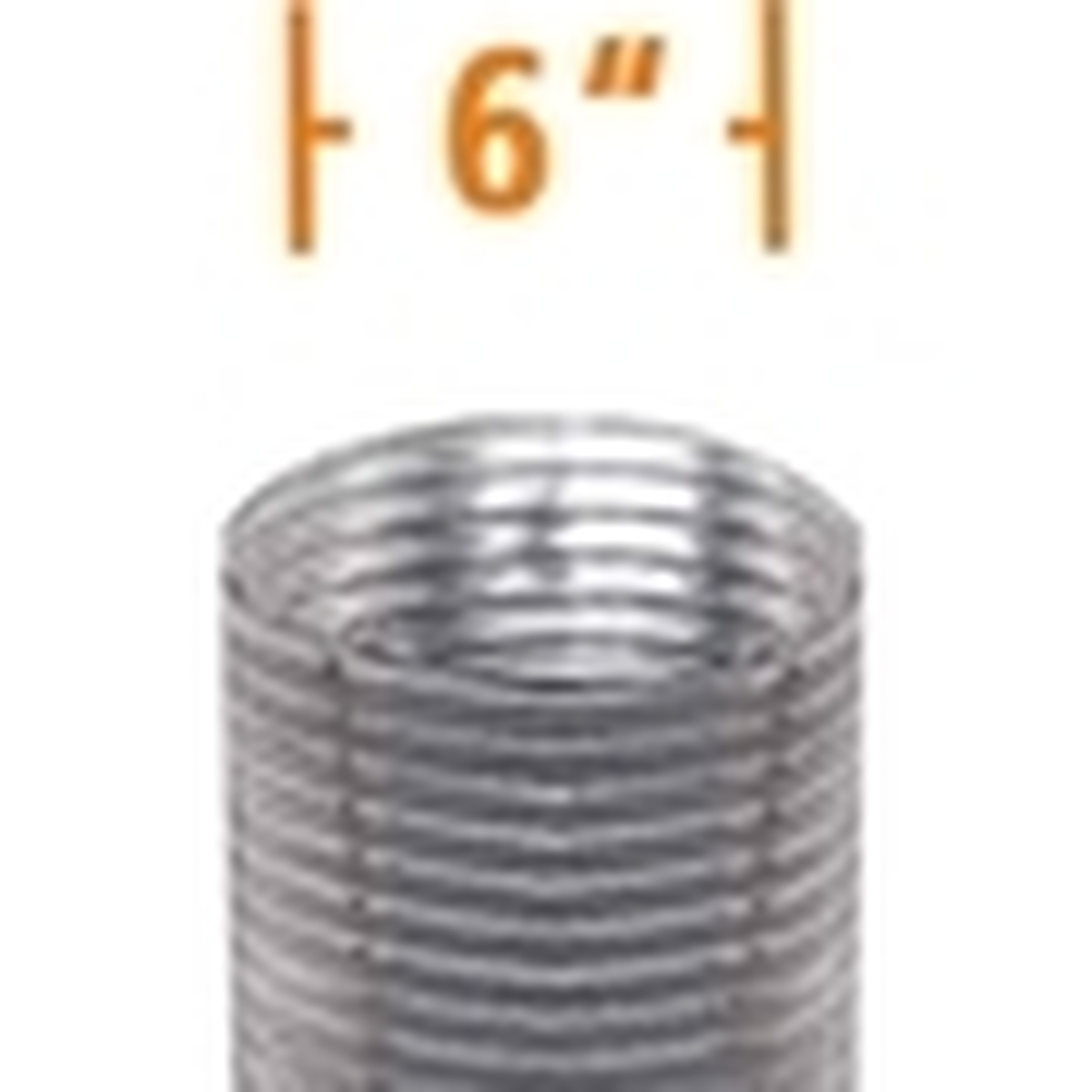 6'' DuraFlex Aluminum Chimney Liner (Gas)
